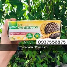 Bánh Gullon ăn kiêng Digestive sôcôla 270g