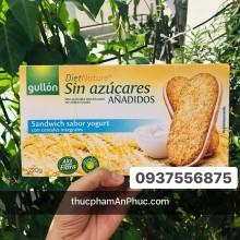 Bánh Gullon ăn kiêng không đường nhân sữa chua 220g