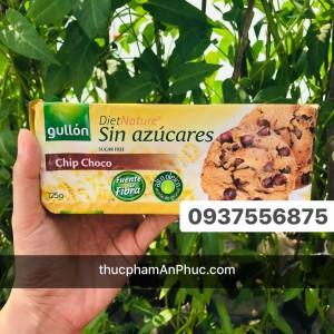 Bánh Gullon Cookies Sôcôla sugar free 125g