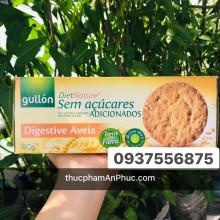 Bánh quy Gullon lúa mạch digestive không đường 410g