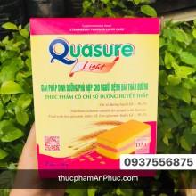 Bánh bông lan Quasure light dâu hộp 126g