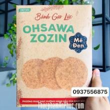 Bánh gạo lứt mè đen Ohsawa zozin