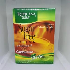 Cà phê ăn kiêng cappuchino chiết xuất cỏ ngọt Tropicana slim 8 gói x12g
