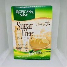 Cà phê ăn kiêng latte chiết xuất cỏ ngọt Tropicana slim 10 gói x14g