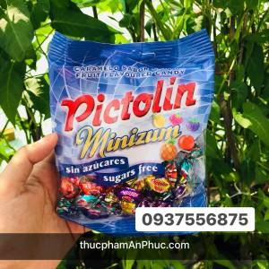Kẹo Pictolin không đường vị hoa quả hỗn hợp 65g