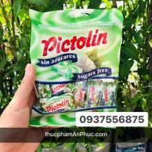 Kẹo Pictolin không đường vị kem sữa bạc hà 65g