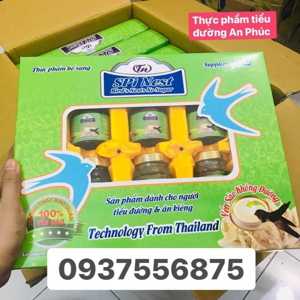Yến Sào Ăn Kiêng SPI- Nest hộp 6 hũ