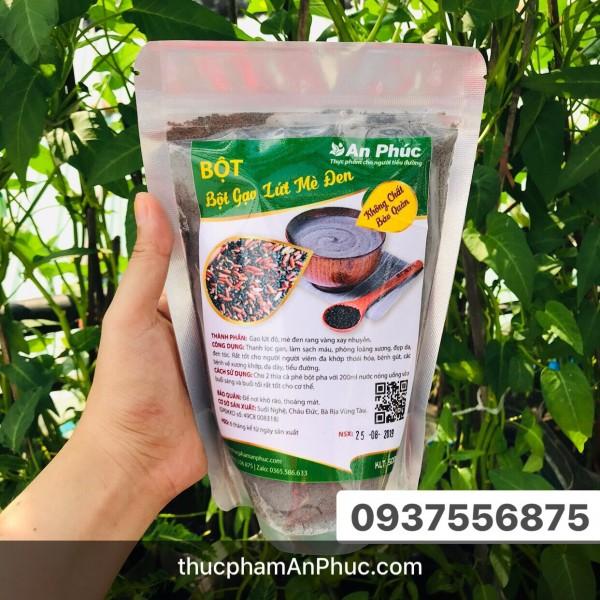 Bột gạo lứt mè đen (túi 500g)