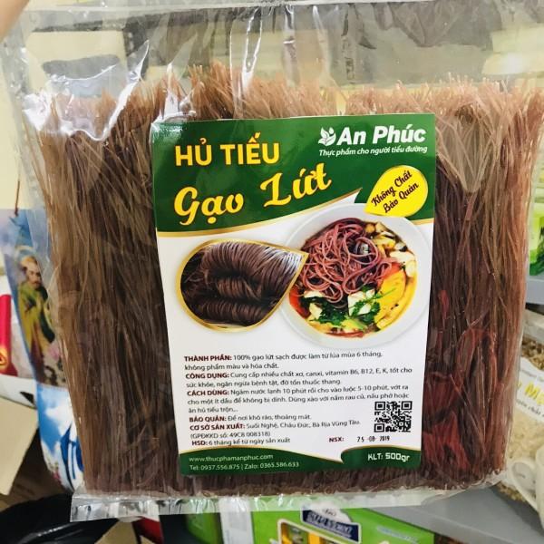 Hủ tiếu gạo lứt cho người tiểu đường (sợi nhỏ - 500g)