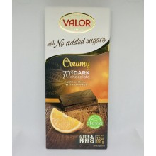 Socola Valor creamy 70% dark vị cam