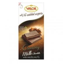 Socola Valor Creamy milk với hạt phỉ