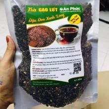 Trà gạo lứt đậu đen xanh lòng ủ mầm (túi 500g)